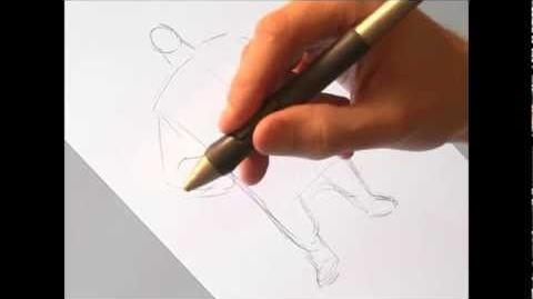 Rise of the Guardians - Drawing Tutorial - North