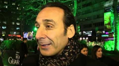 Alexandre Desplat Interview - Rise of the Guardians UK Premiere