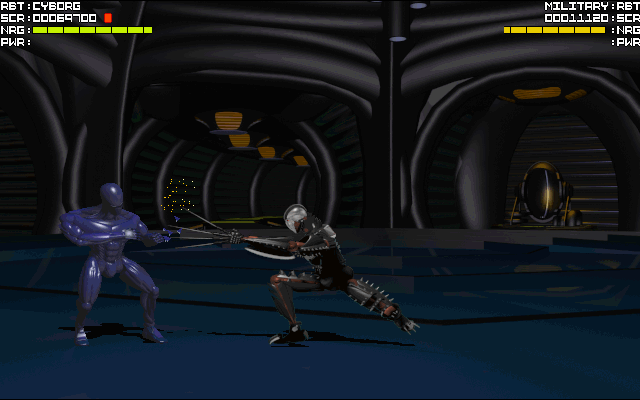 File:327151-rise-of-the-robots-dos-screenshot-cyborg-vs-military.png