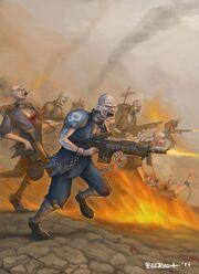 Prison Corps Soldier