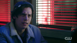 Season 1 Episode 4 The Last Picture Show Jughead frustrated