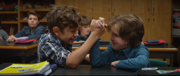 Auggie-and-jack-arm-wrestle