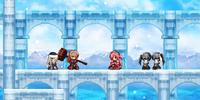 Snowy Pillars