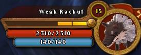WeakRackufBar