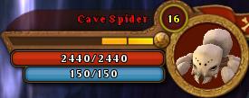 CaveSpiderBar