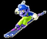 Zario at the Winter Olympics
