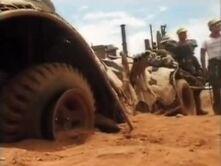 Cow car stunt 3