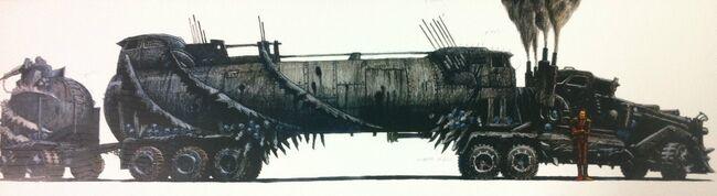 War rig concept art