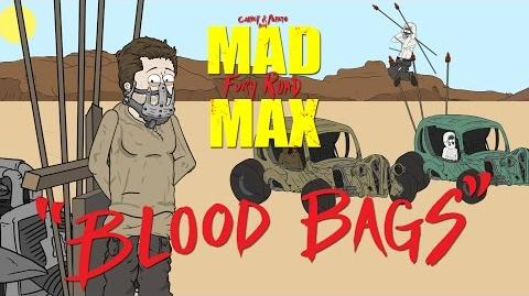 "Mad Max Fury Road ""Blood Bags"" a Carrot and Potato Parody"