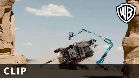 Mad Max Fury Road - Tanker Stunt