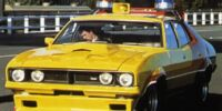 "Ford Falcon XB Sedan 1974 ""Max's Yellow Interceptor"""