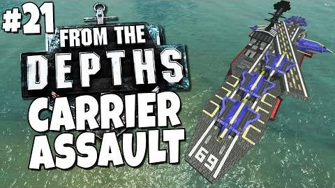 From the Depths 21 - Aircraft Carrier Assault