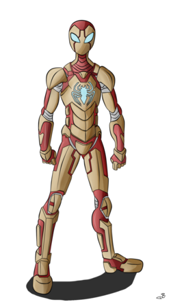 Iron spider by berny17-d66vl94