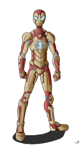 File:Iron spider by berny17-d66vl94.png