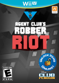 Agent Club's Robber Riot Cover