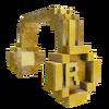 Gold 8-Bit Headphones