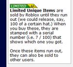 Limitedu items