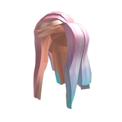 long pastel hair roblox free