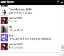 Faceblox chat