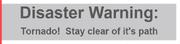 Warningt