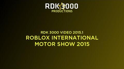 -3D- RDK 3000 VIDEO 2015.1- RIMS 2015