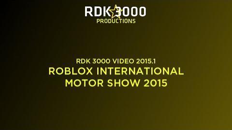 -3D- RDK 3000 VIDEO 2015