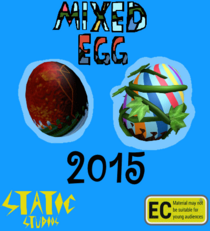 Mixed egg poster