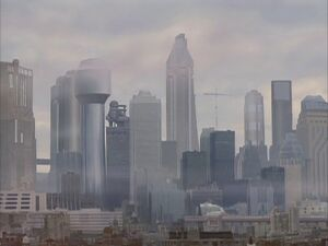 Delta City Skyline
