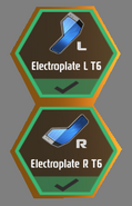 T6 Electroplates
