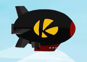 Kamikazi's ship