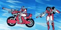 VR-038 Light Armor Veritech Motorcycle