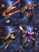 Transformers legends blast off