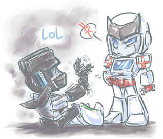 TF Care to Lend a Hand by DoodleWEE