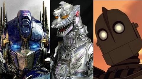 Top 10 Giant Robots
