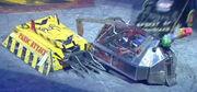 Panic attack vs steel avenger vs spirit of knightmare