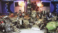 House robot lineup