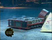 Tornado vs Wheely Big Cheese