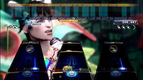 Bombtrack - Rage Against the Machine Expert Full Band RB3 DLC