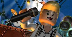 Lego-rock-band David Bowie
