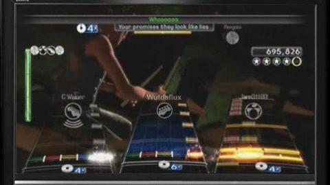 Attack by 30 Seconds to Mars (Rock Band Full Expert 5 gold stars)
