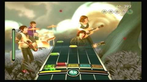 The Beatles Rock Band While My Guitar Gently Weeps- Sight Read (99% Gold Stars)