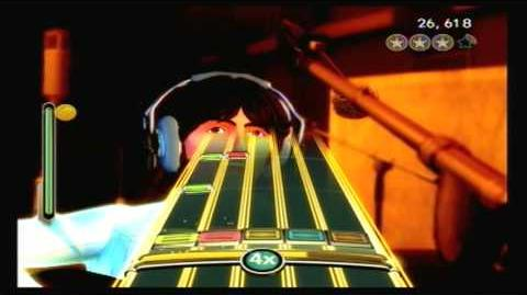 The Beatles Rock Band Golden Slumbers Carry That Weight The End- Sight Read (99% Gold Stars)