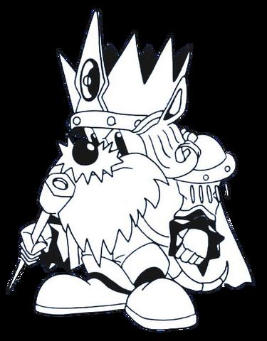 File:King Zebulos (Rocket Knight Adventures Europe Manual Line Artwork).png