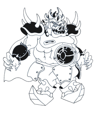 File:Emperor Devligus Devotindos (Rocket Knight Adventures Europe Manual Line Artwork).png