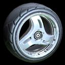 Triplex wheel icon black