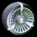 Turbine wheel icon pink