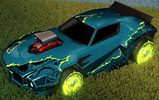 Unmasked decal lime rare