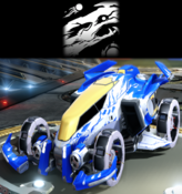 Space worm decal premium