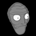 Cromulon topper icon grey