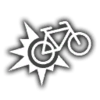 Bicycle Hit points icon